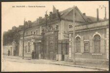 18 BOURGES CARTE POSTALE ECOLE DE PYROTECHNIE 1911