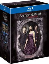 VAMPIRE DIARIES Complete Season 1 - 5 Blu Ray Series Box Set New 1 2 3 4 5 UK