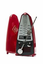 Wittner Taktell Piccolo Keywound Metronome- Ruby Red #834 New with Free Shipping