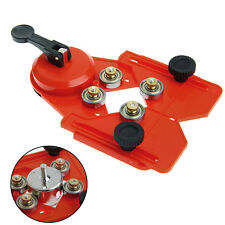 Adjustable 4-83mm Glass Tile Hole Saw Drill Guide Locator Openings Sucker Base