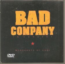 """BAD COMPANY """"In Concert - Merchants Of Cool"""" CD + DVD trifold cardsleeve 2005"""