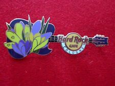 HRC Hard Rock Cafe Cologne Köln Flower Guitar Series 2013 No2 Crocus LE200