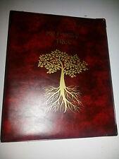 Ma famille Tree-Histoire de stockage liant ref rouge avec 4D Métal Capacité 40 mm