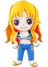 "Official Great Eastern GE-52554 One Piece - 9.5"" Time Skip Nami Plush Doll"