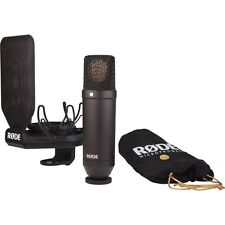 Rode NT1 KIT NT-1 Mic Recording Bundle Pack SHIPS DAY YOU BUY! MAKE OFFER!