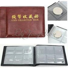 Collecting Money Penny Pockets 60 Holders Collection Storage Coin Album Book