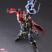 Thor Play Arts Kai Mercadería Oficial Nuevo Sellado Marvel Vengadores