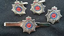 RCT Cuff Links, Badge, Tie Clip Royal Corps of Transport Military Gift Set