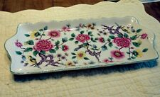 "Vintage Old Foley James Kent England ""Chinese Rose"" Vanity Set Dish - TRAY ONLY"