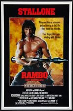 "RAMBO: FIRST BLOOD PART 2- orig 27x40 ROLLED ""A"" movie poster SYLVESTER STALLONE"