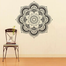 Mandala Flower Indian Bedroom Wall Decal Art Stickers Mural Home Vinyl Family