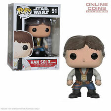 STAR WARS - HAN SOLO CEREMONY - FUNKO POP VINYL FIGURE - NEW IN BOX!
