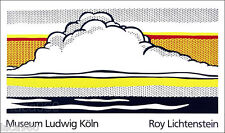 Roy LICHTENSTEIN Cloud and Sea Museum Ludwig Silkscreen  Poster
