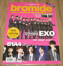 BROMIDE EXO B1A4 2NE1 BTS GIRLS' GENERATION K-POP MAGAZINE 2014 APR APRIL NEW