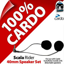 New Cardo Scala Rider 40mm Speaker Set for SmartPack PackTalk G9x G9 Q3 Q1 Qz