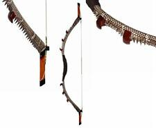 "45lbs Handmade Traditional Recurve Wooden Bow 56"" Archery Hunting Horse Bow"