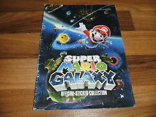 SAMMELBILDER/STICKER ALBUM:  SUPER MARIO GALAXY -- Official Sticker Collection
