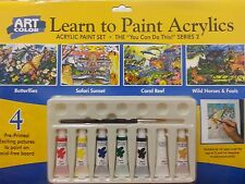 Art Color Learn to Paint Acrylics Paint Set