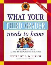 Core Knowledge: What Your Third Grader Needs to Know : Fundamentals of a Good...