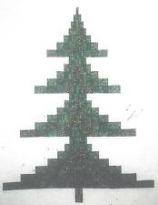 Bargello Christmas Tree quilt pattern by The Quilted Gallery