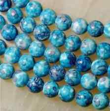 6mm blue Rainbow Jasper gemstone loose beads 15''AAA  JK8888