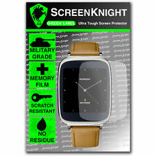 ScreenKnight Asus ZenWatch WI500Q SCREEN PROTECTOR invisible Military shield