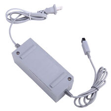 US Plug AC Power Supply Adapter Cable for Nintendo Wii GamePad Controller Gray