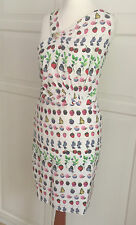 Versace f. H&M Kleid Dress Seide Silk EUR 38 oder 40 size US 8 or 10  UK 12 or14