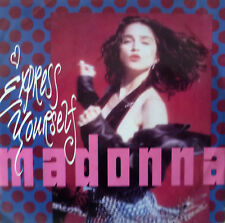 "7"" 1983 PARTY KULT IN MINT-! MADONNA : Express Yourself"