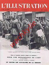 L'illustration n°5232 du 19/06/1943 pompiers sous-marins cigognes LVF Vichy