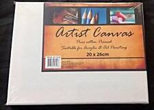 Artist Canvas Blank Canvas 20cm x 26cm Wholesale Bulk Lots Brand New