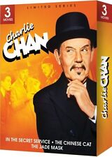 CHARLIE CHAN 3 MOVIE SET New DVD Secret Service Jade Mask Chinese Cat