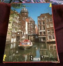 Amsterdam 1000 Piece Jigsaw Puzzle NEW SEALED City/Canal/Boat Bears Publishing