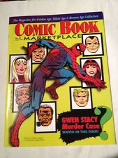 Comic Book Marketplace # 67 , 1999 Spiderman Issue Gwen Stacy, John Romita Cover
