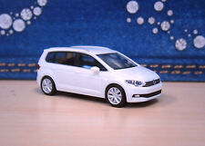 Herpa-VW Touran II (2015) - blanco/White-nº 028493 - 1:87