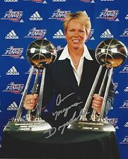 ANN MEYERS DRYSDALE AUTOGRAPH SIGNED 8X10 PHOTO WBL NBA WNBA PHOENIX MERCURY