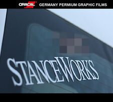 STANCE WORKS wheels JDM EURO DRIFT RACING Car vinyl Decal Sticker