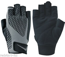 NIKE MENS TRAINING GYM ELITE GYM CORE LOCK 2.0 WEIGHT LIFTING GLOVES NEW XL