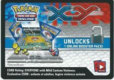 20x POKEMON TCG Online Booster Codes - XY Base + BONUS!!