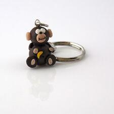 llavero mono lindo regalo de Navidad hecho a mano