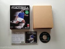Microsoft International football 2000 PC FR Big Box boite carton