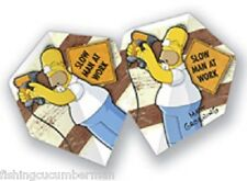"THE SIMPSONS "" SLOW MAN AT WORK"" DART FLIGHTS"