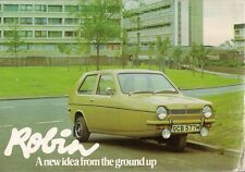 Reliant Robin 750cc 1973-75 UK Market Sales Brochure Standard Super