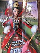 Alice in Wonderland Queen of Hearts Barbie Doll 2007 New