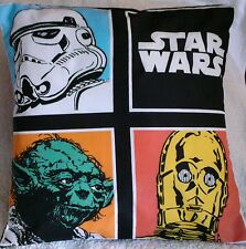 Star Wars Handmade cushion cover or pillow case 16 x 16 inch