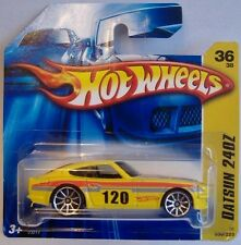 Hotwheels (2006) DATSUN 240Z  #036/223 - ' YELLOW ' - 1/64 SCALE
