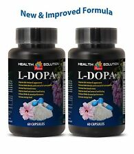 Bodybuilder Extrem. L-Dopa powder Extracted from Macuna Pruriens (2 Bottles)