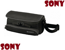 SONY LCS-U5 Black Compact Carry Case for Handycam LCSU5 Genuine / Brand New