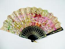 5x Lot Assorted Glitter Wedding Bridal Bride Quinceanera Party Hand Fan #A15