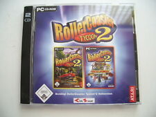 Roller Coaster 2 time Twister + Wacky Worlds (PC) 2 Add ons extensiones